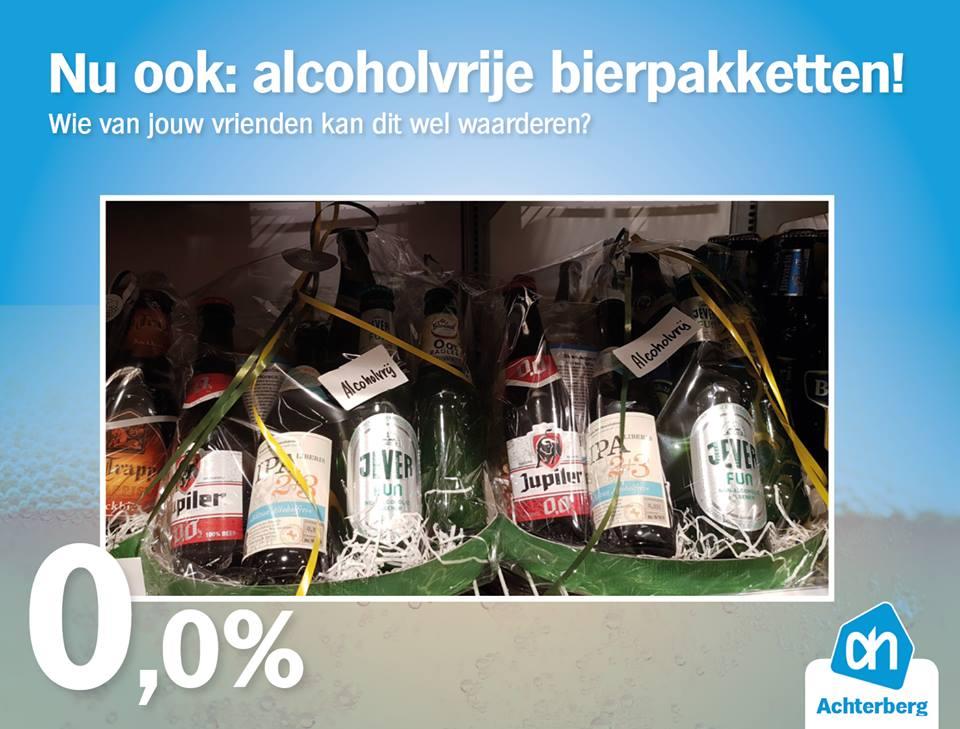 Nu ook alcoholvrije bierpakketten!