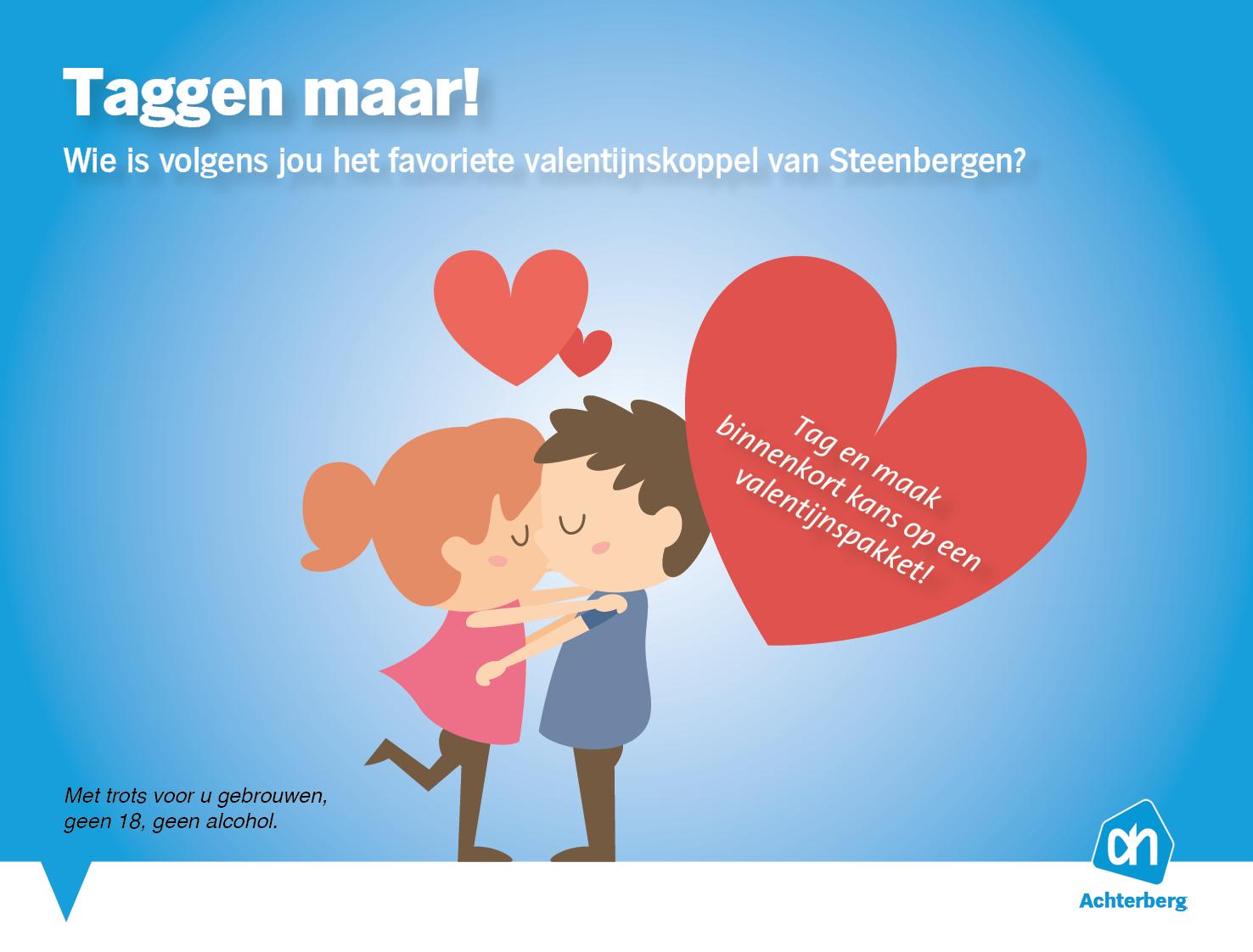 Wie is volgens jou het favoriete valentijnskoppel van Steenbergen?