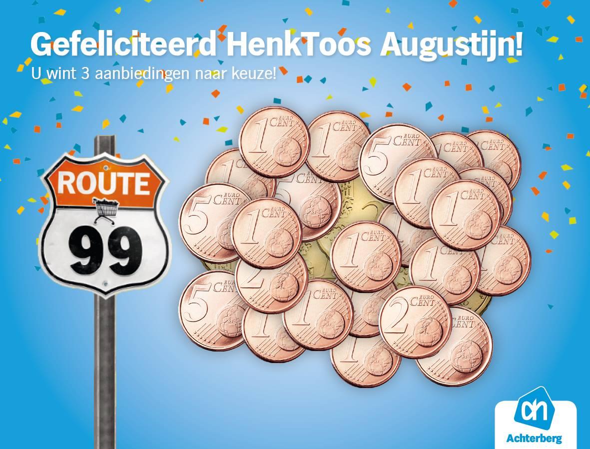 Gefeliciteerd HenkToos Augustijn!