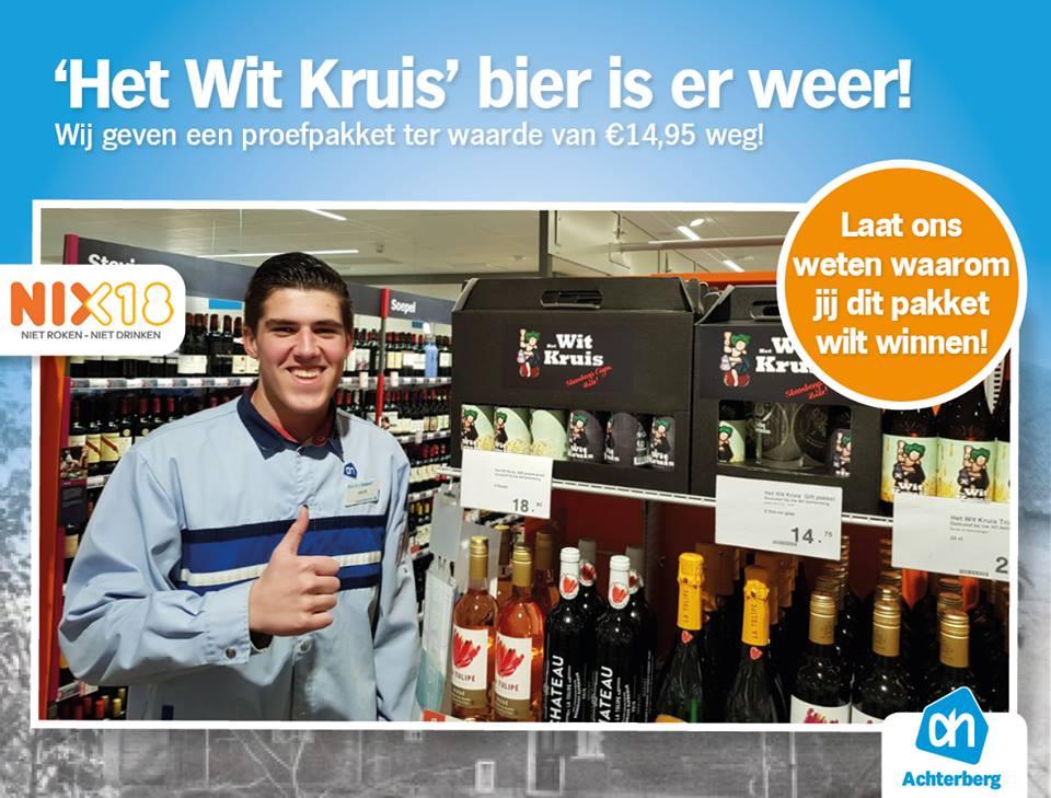 Win een 'het Wit Kruis' bier proefpakket ter waarde van € 14,95!