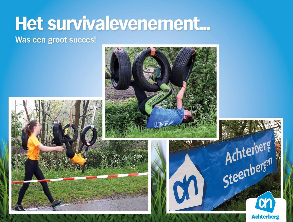 Het survivalevenement… Was een groot succes!