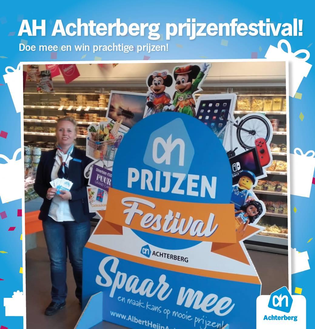 AH Achterberg prijzenfestival! Doe mee en win prachtige prijzen!