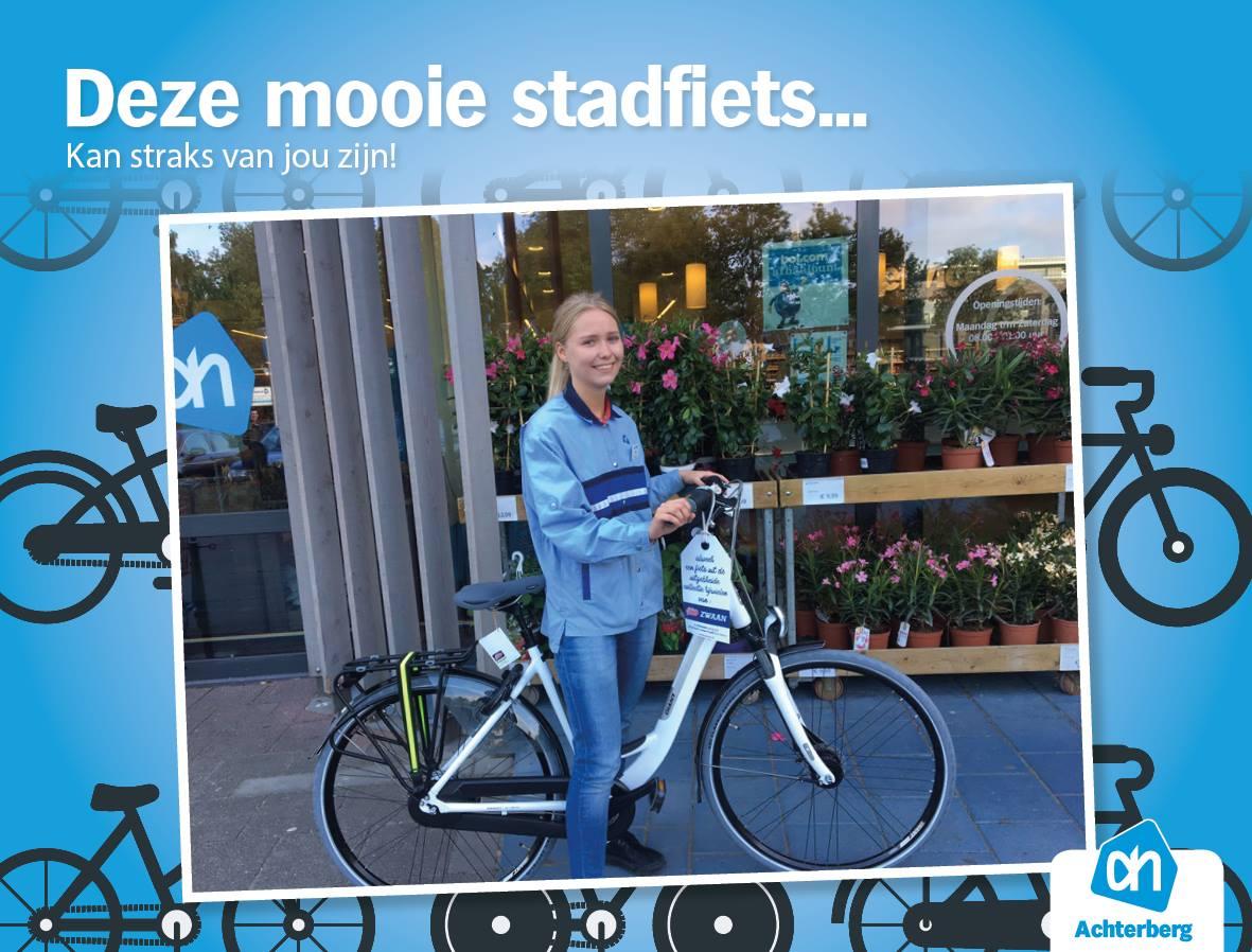Maak kans op deze mooie fiets!