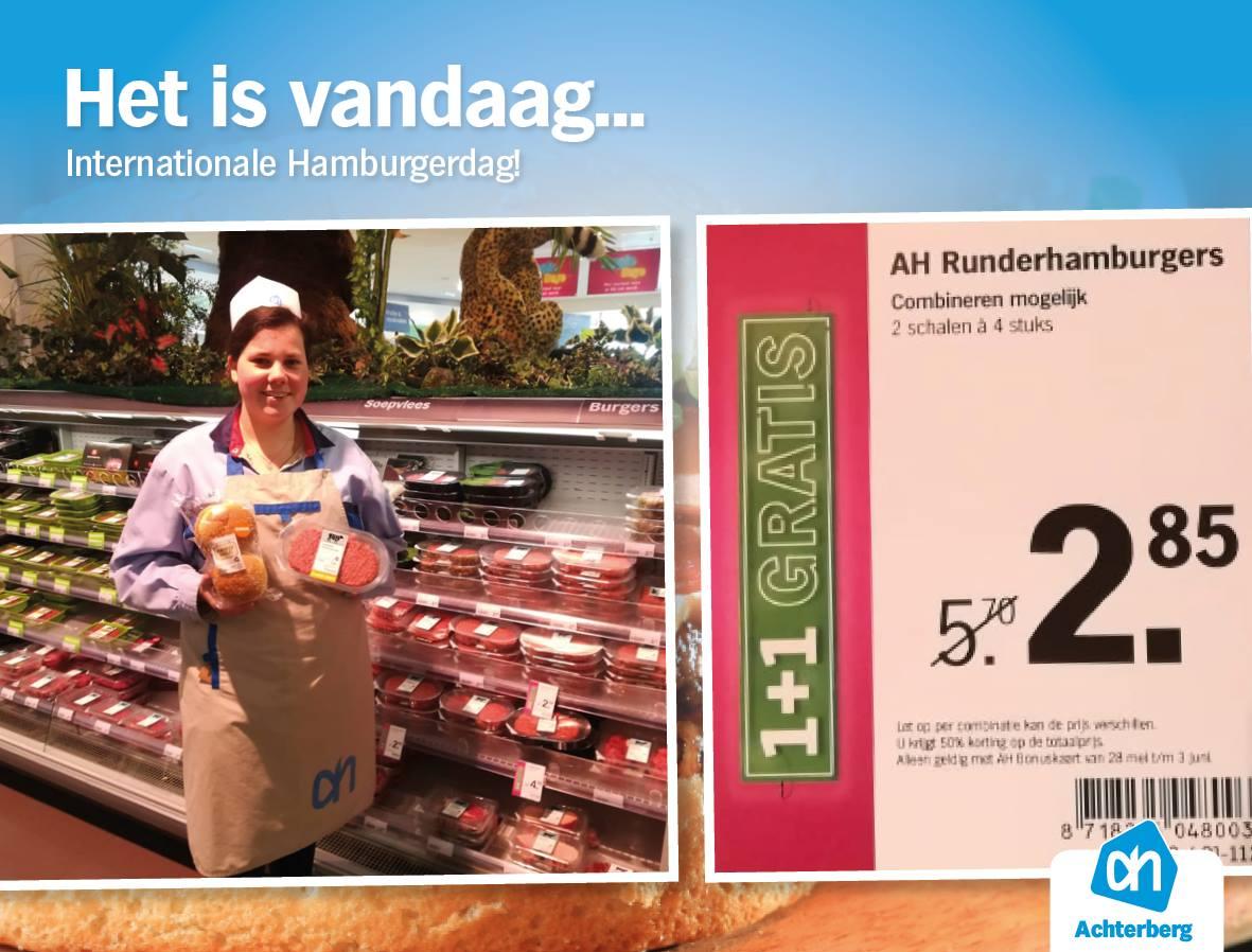 Het is vandaag… internationale Hamburgerdag!