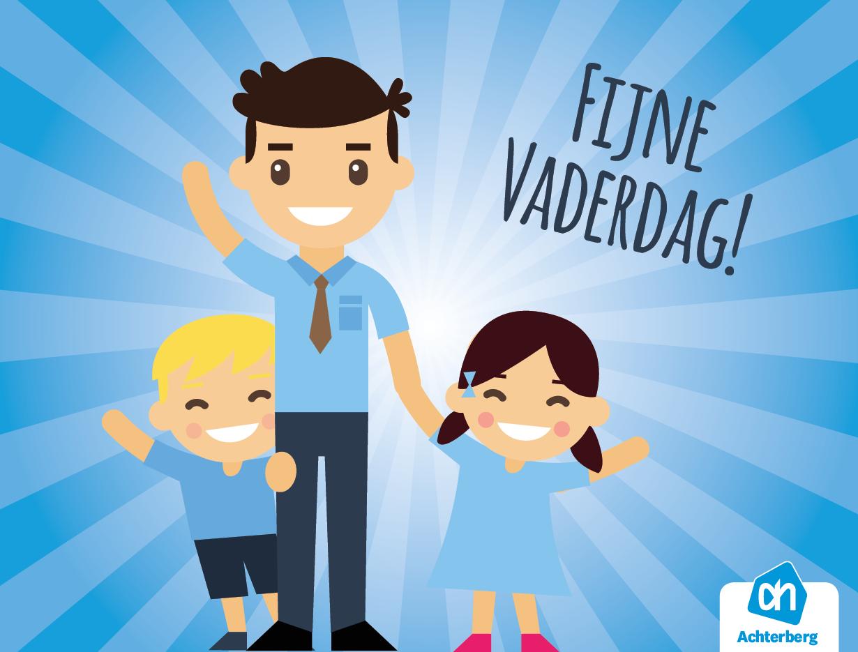Wij wensen alle vaders een fijne Vaderdag!