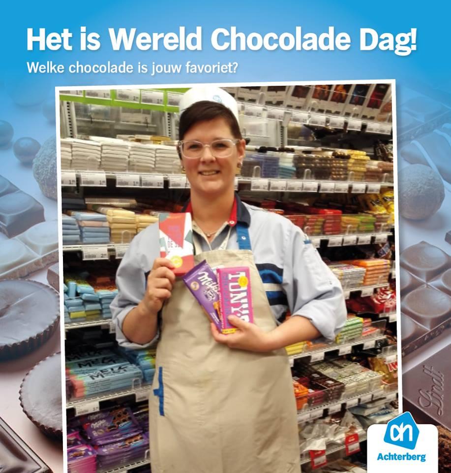 Het is Wereld Chocolade Dag!