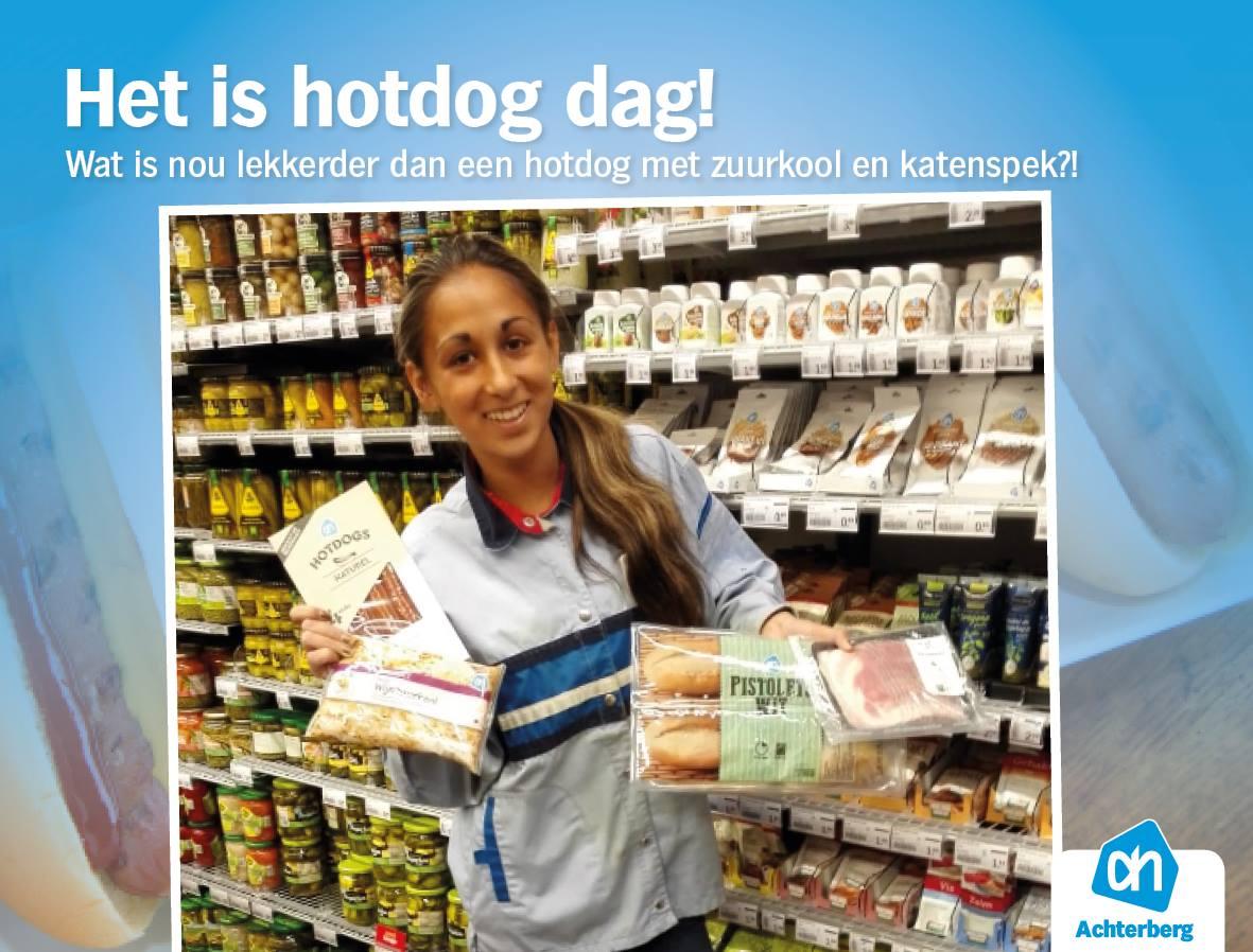 Woensdag hotdog dag!