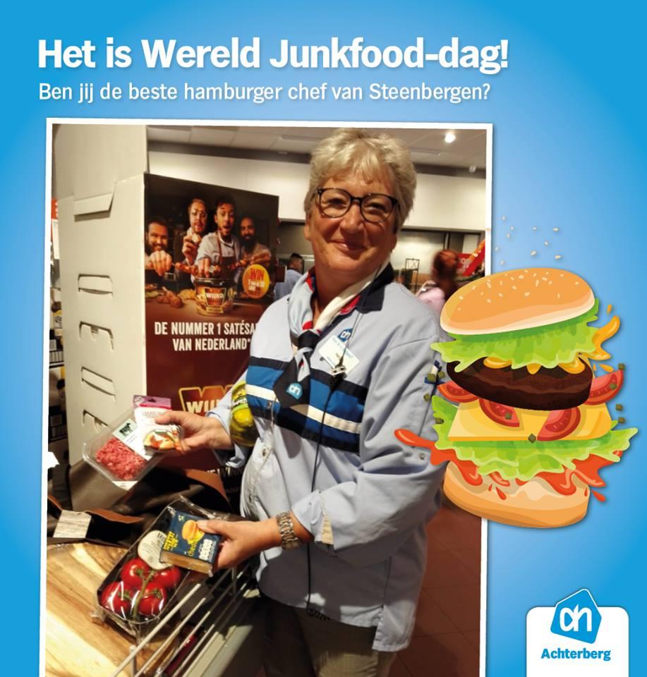 Wereld Junkfood-dag!