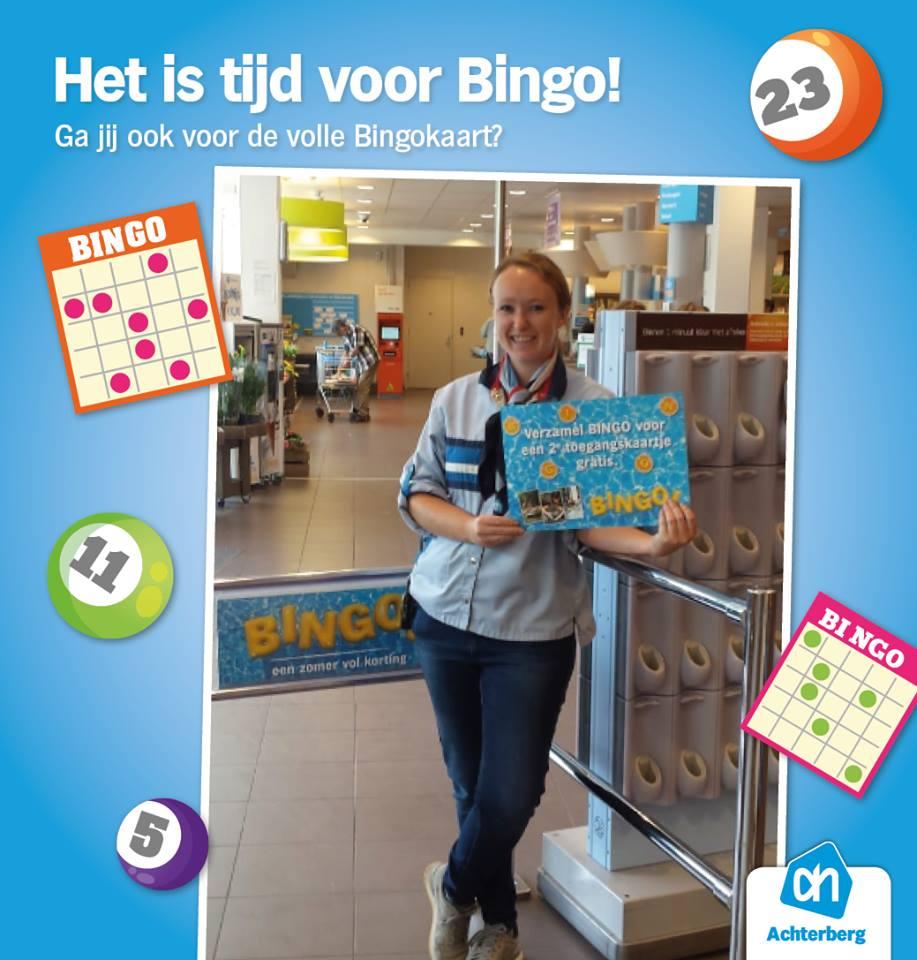 Spaar Bingo zegels voor het 2e kaartje gratis!