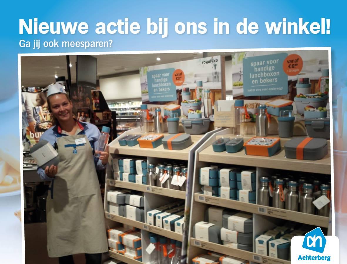 Er is weer een nieuwe actie van start bij onze Albert Heijn!