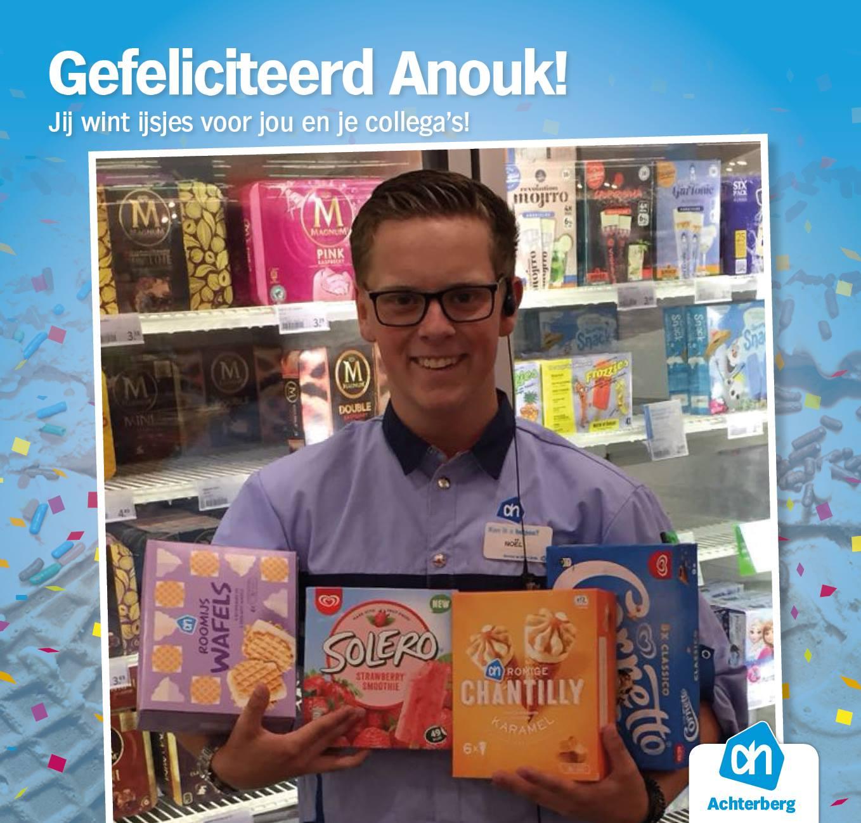 Gefeliciteerd Anouk!