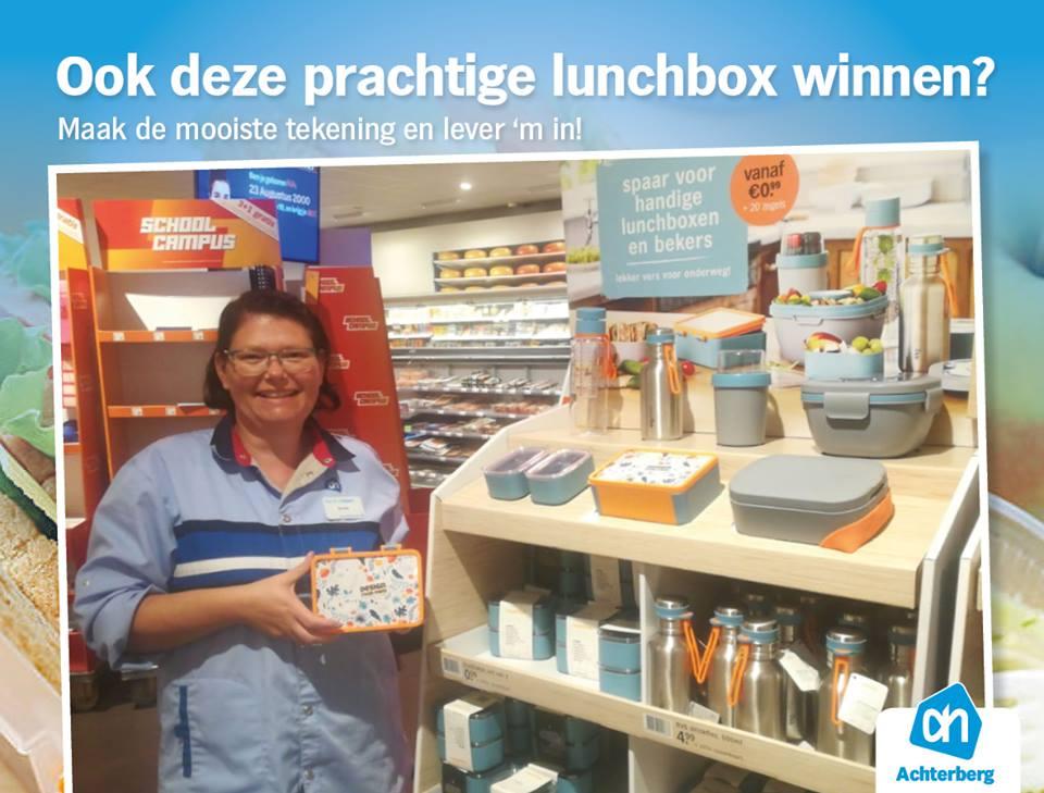 Ook deze prachtige lunchbox winnen?