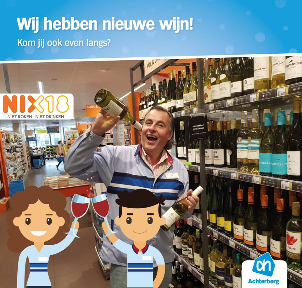 Wij hebben nieuwe wijn!