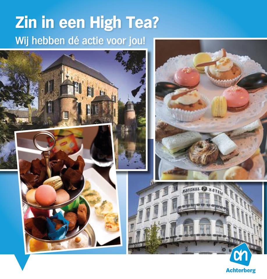 Zin in een high tea?