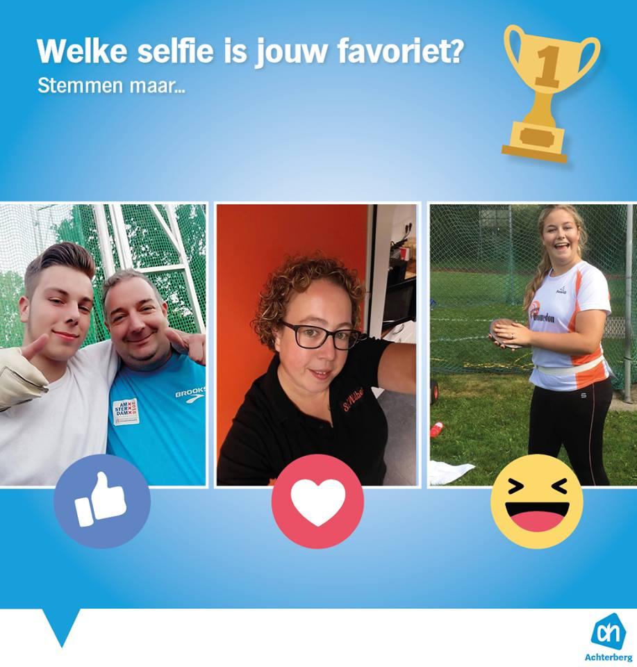Welke selfie is jouw favoriet?