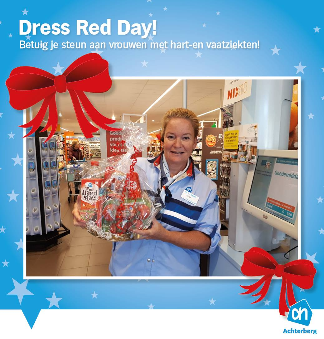 Dress Red Day!