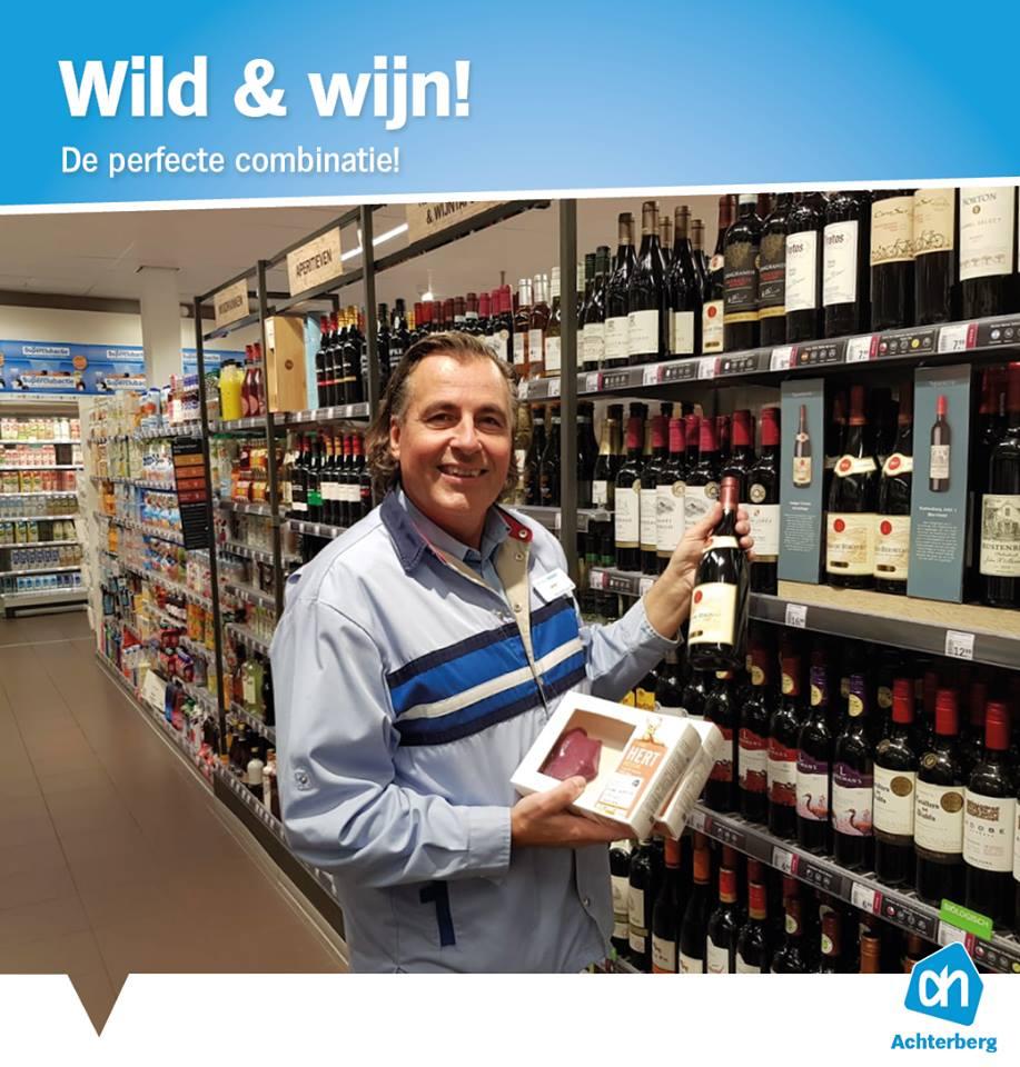 Wild & wijn! De perfecte combinatie!