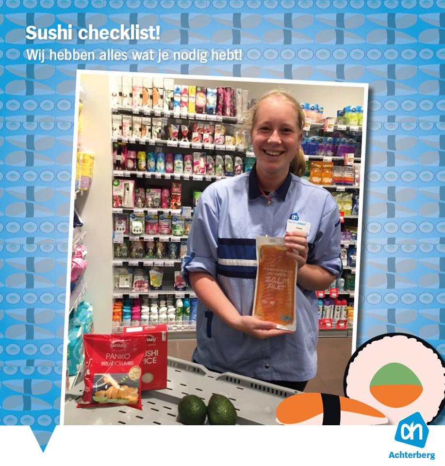 Sushi Checklist!