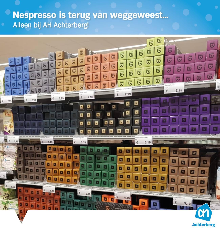 Nespresso-fans opgelet!