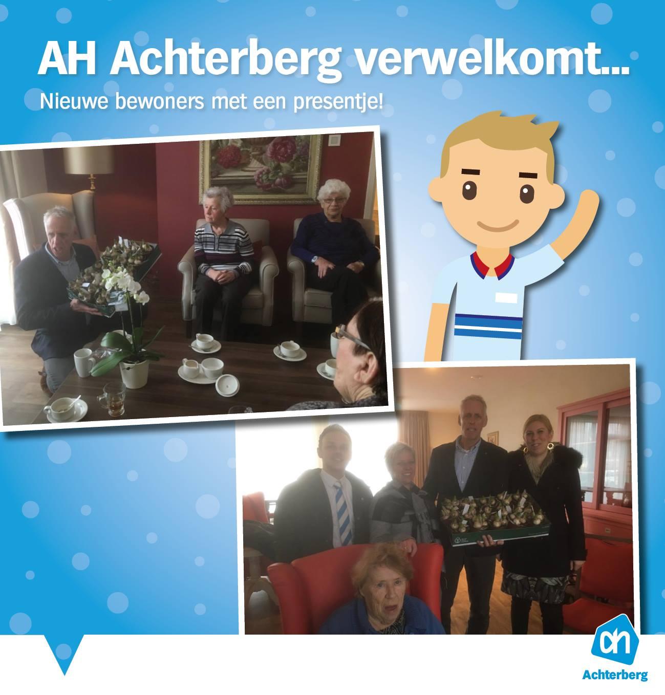 AH Achterberg verwelkomt…
