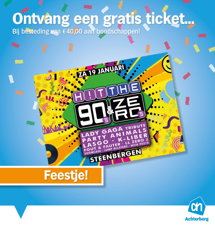 Ontvang een gratis ticket!