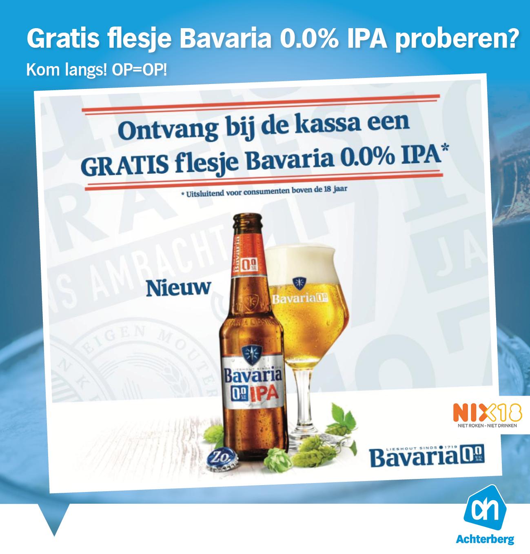 Ook zo benieuwd naar het nieuwe biertje van Bavaria?