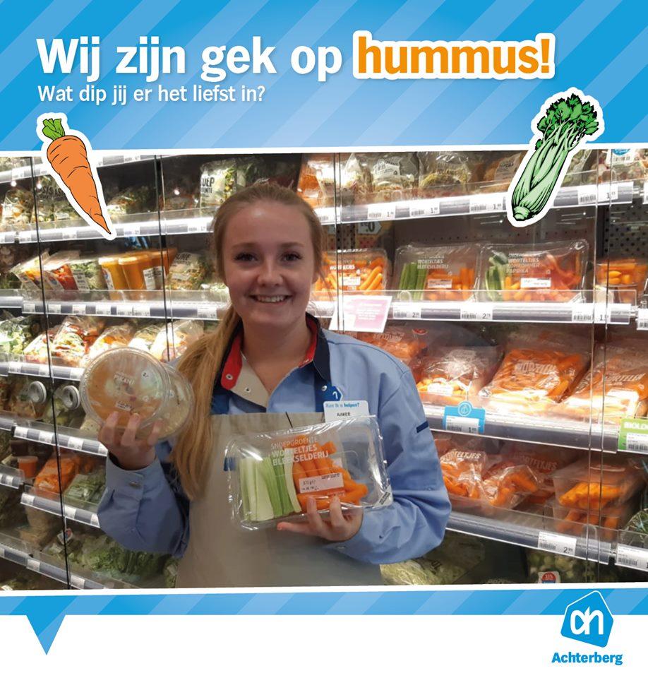 Wij zijn gek op hummus!