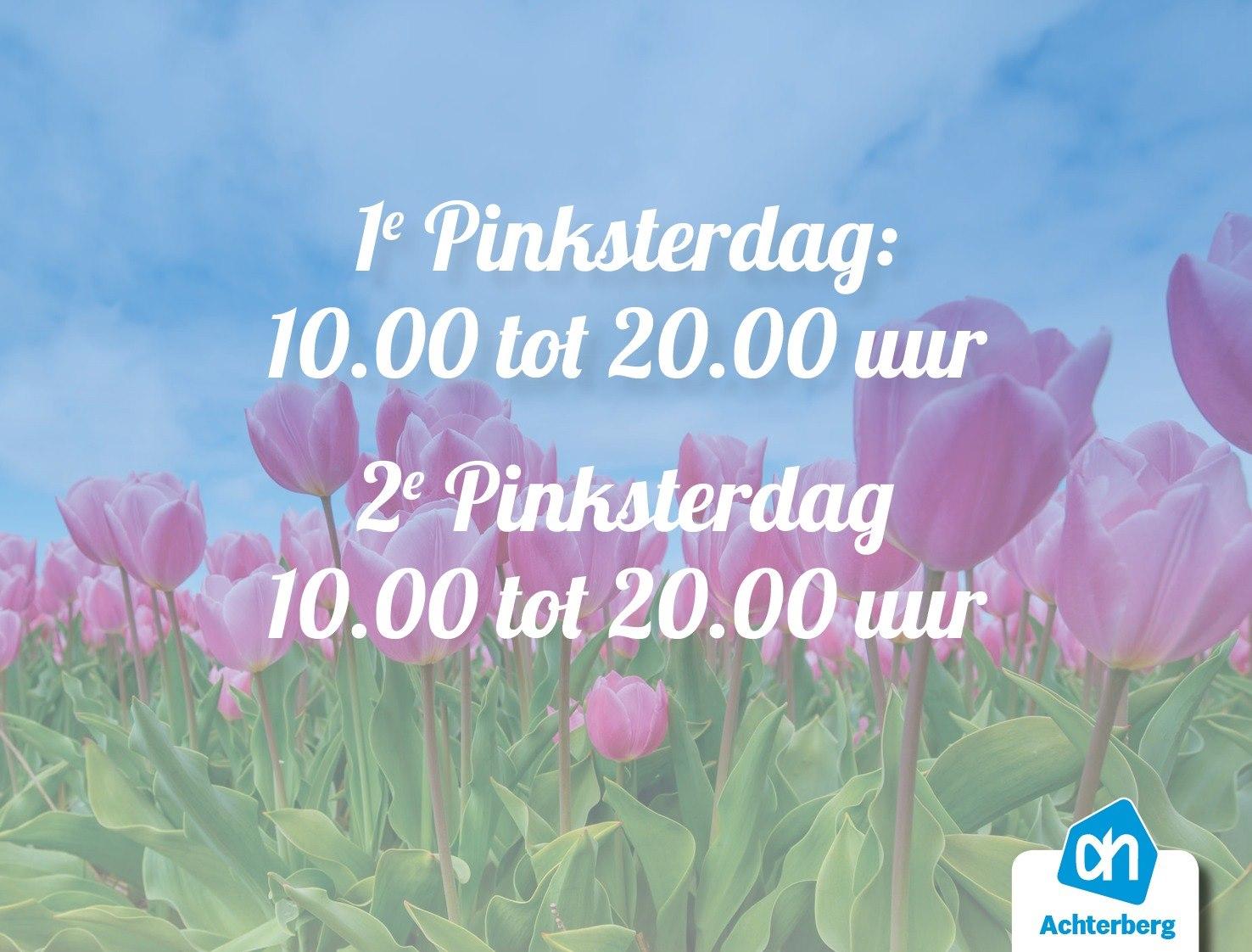 Albert Heijn Achterberg wenst je een fijne 1e Pinksterdag!