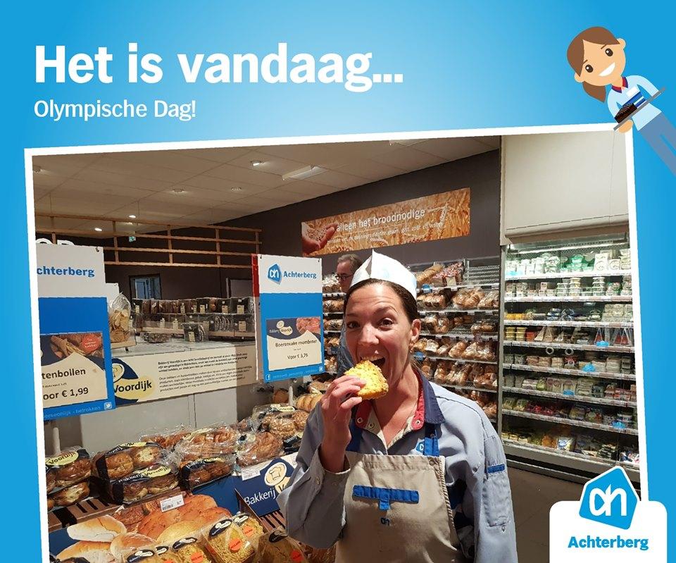 Het is vandaag 'Olympische Dag'!
