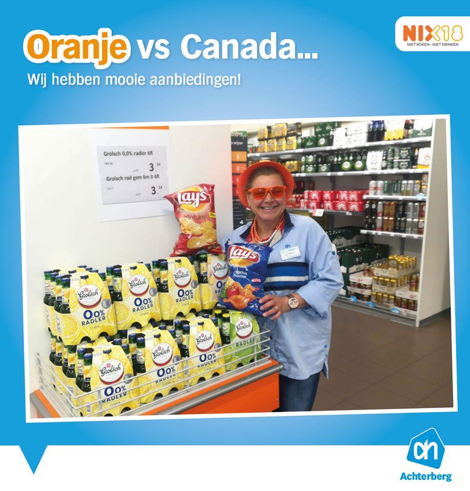 Oranje vs Canada