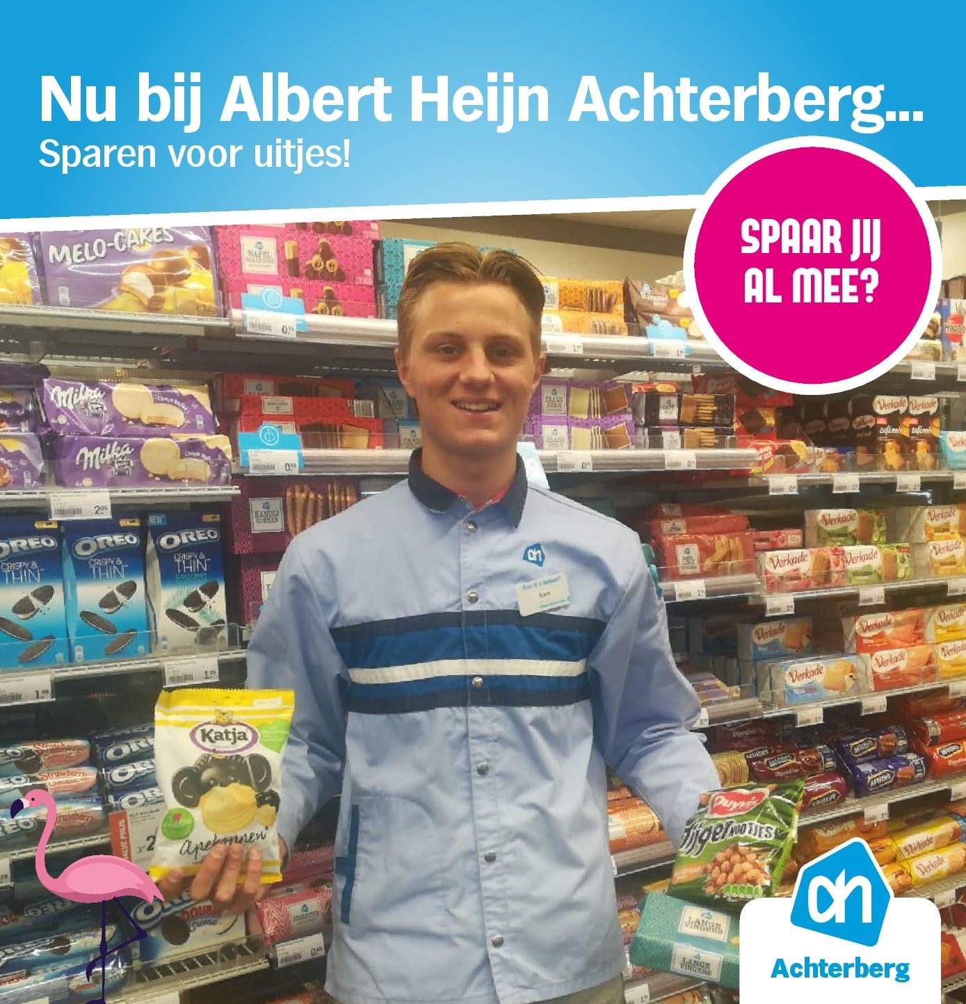 Nu bij Albert Heijn Achterberg…