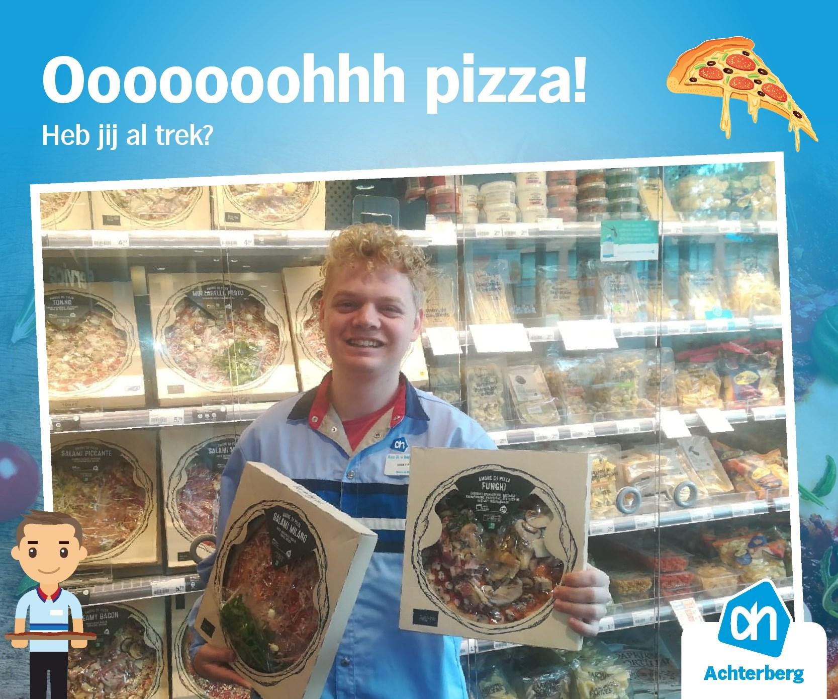 Oooooooohhhh pizza!