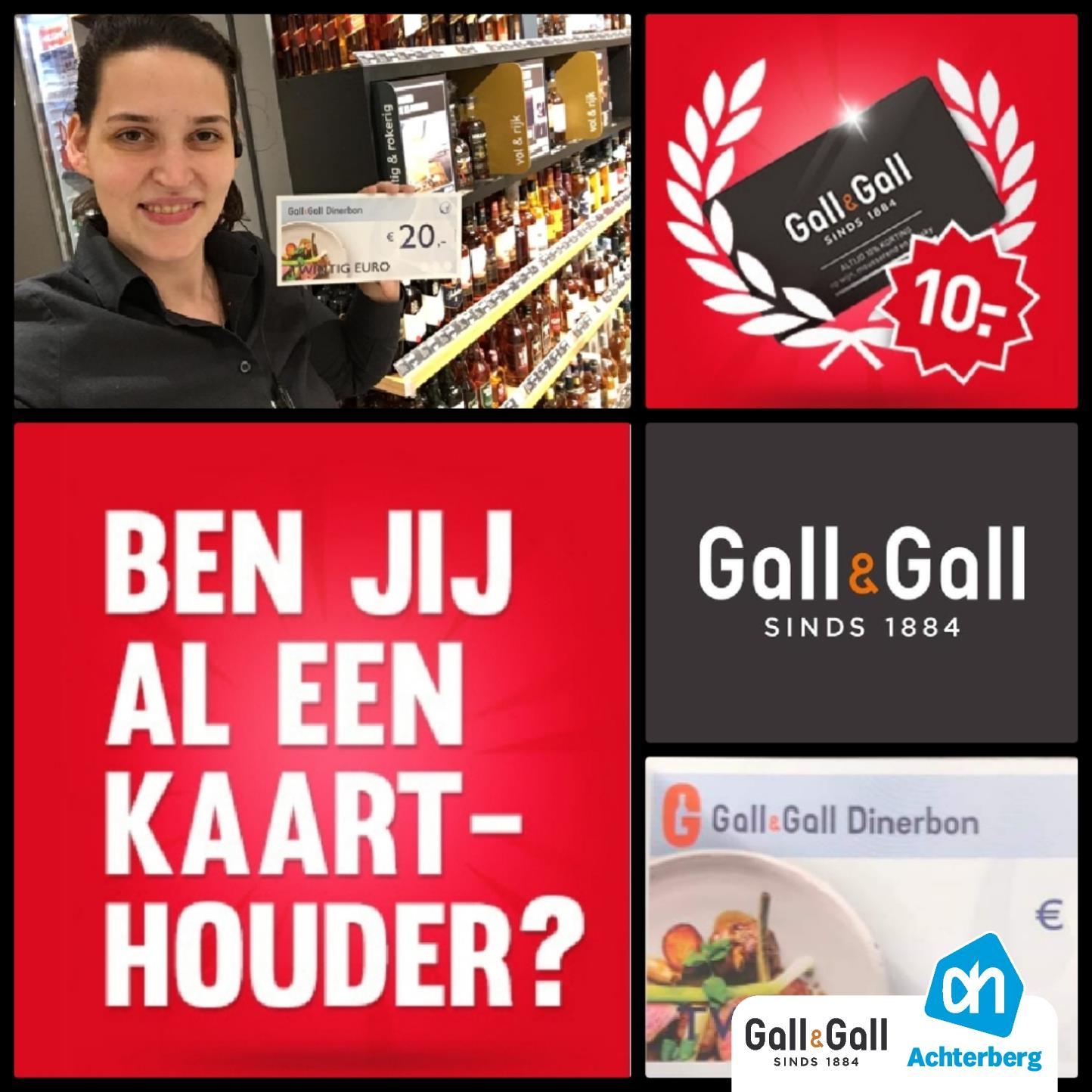 Ben jij al Gall&Gall kaarthouder?