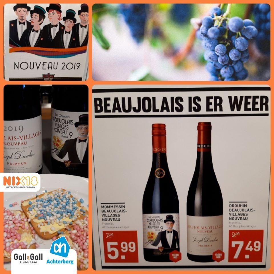 Geniet vanaf vandaag van Beaujolais nouveau!