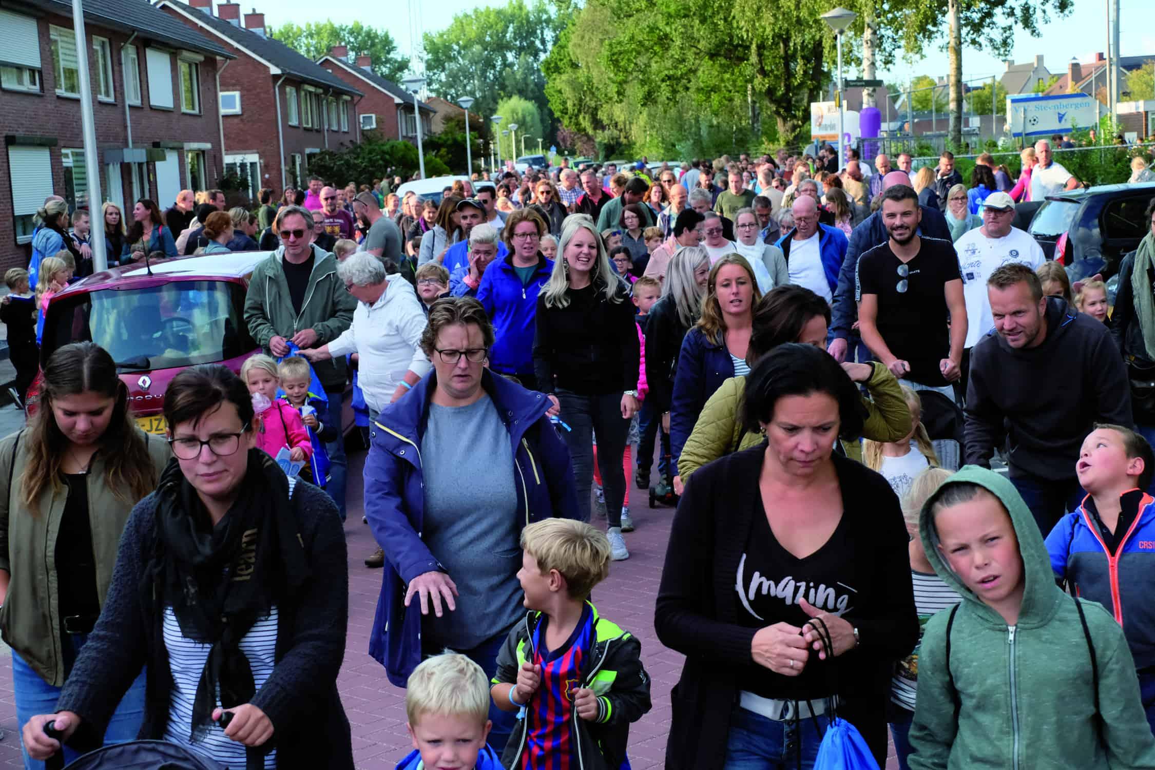 Dit jaar helaas geen 55e editie van Steenbergse Wandel4daagse
