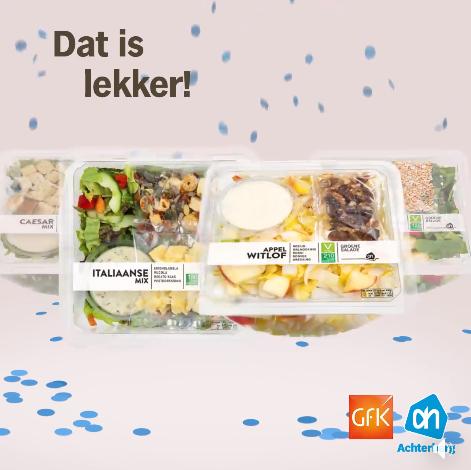 Hoera, Albert Heijn is het best beoordeeld op makkelijke versmaaltijden!