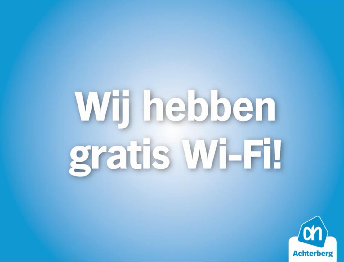 Wist je al dat wij gratis Wi-Fi hebben in onze winkel?