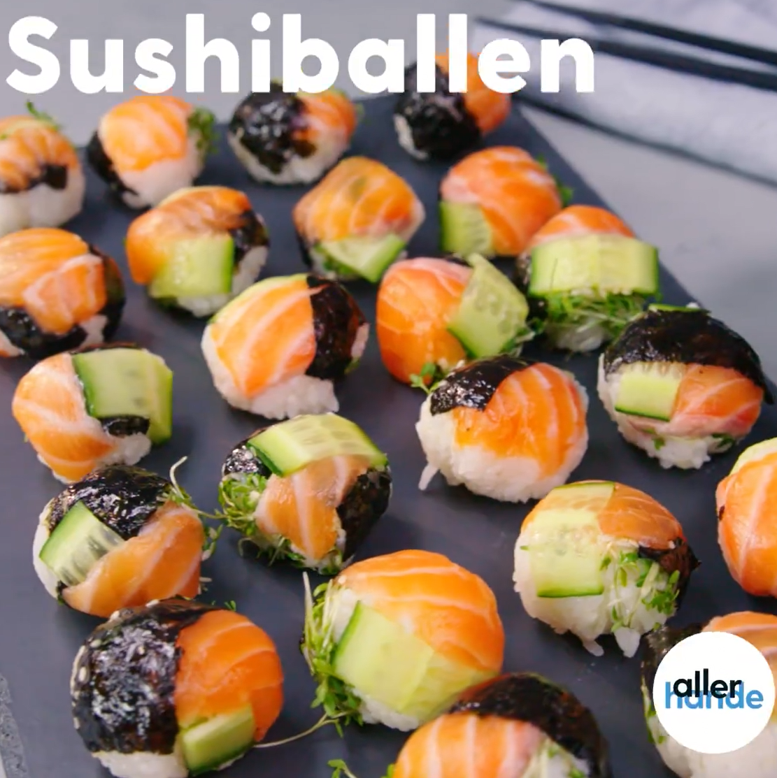 Houd jij ook van sushi, probeer dan sushiballen