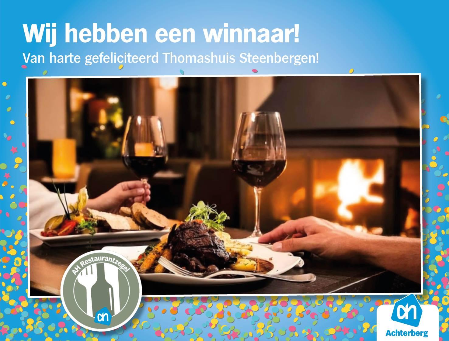 En de winnaar is… Het Thomashuis Steenbergen!