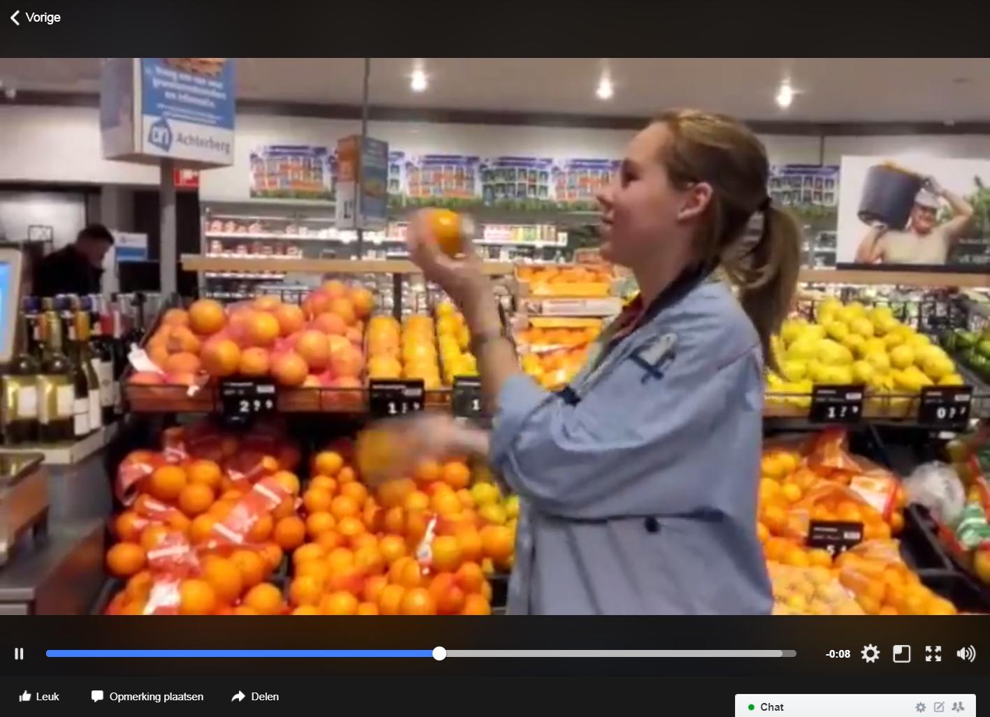 De tijd voor mandarijnen is aangebroken